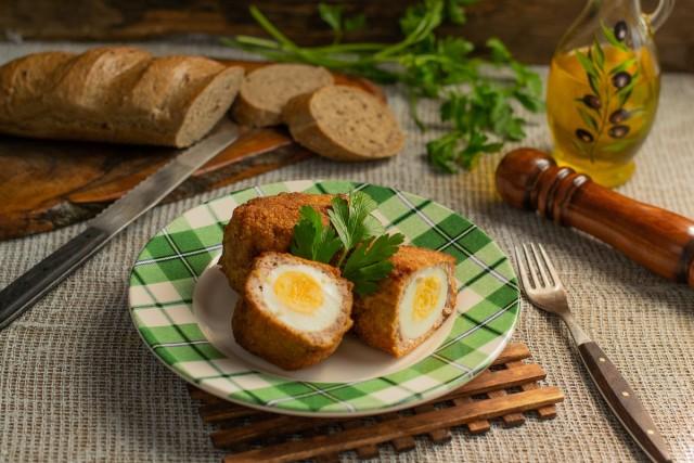 Аппетитные яйца по-шотландски