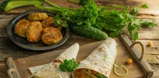 Фалафель — вегетарианские котлеты из нута
