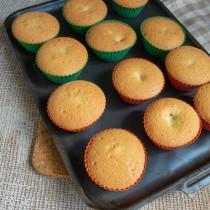 Готовим кексы в духовке 25 минут