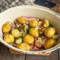 Добавляем картофель