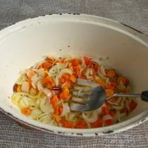 Томим овощи примерно 10 минут