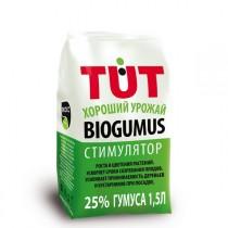 Биогумус TUT хороший урожай, 1,5 л, гранулы, 25 % гумуса, 46 рублей