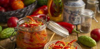 Пикантные овощи по-корейски с приправой для корейской моркови на зиму