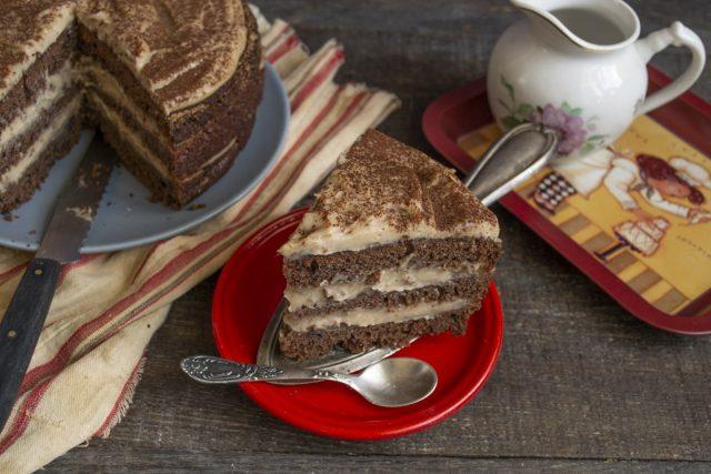 Шоколадный торт от Энди Шефа готов