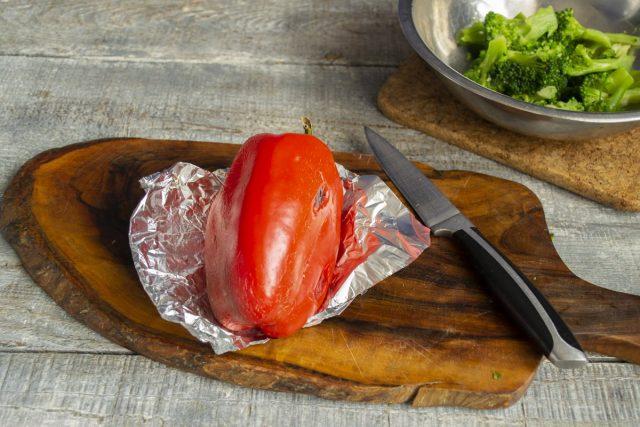 Запекаем красный сладкий перец