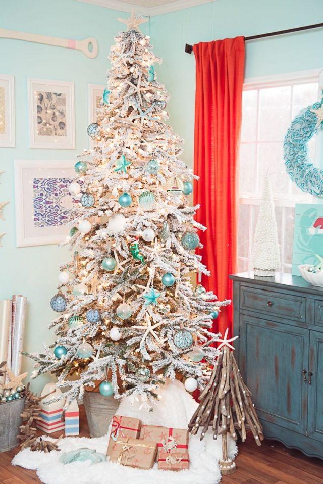 Новогодняя ёлка в морском стиле