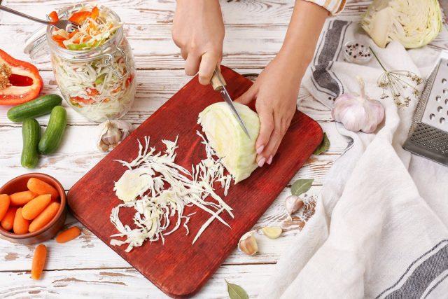 Сочетание овощей для турши может быть самым разным