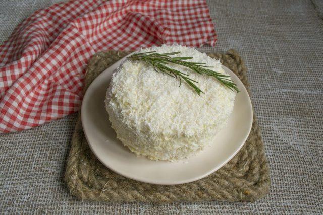 Новогодний торт «Снежный» готов