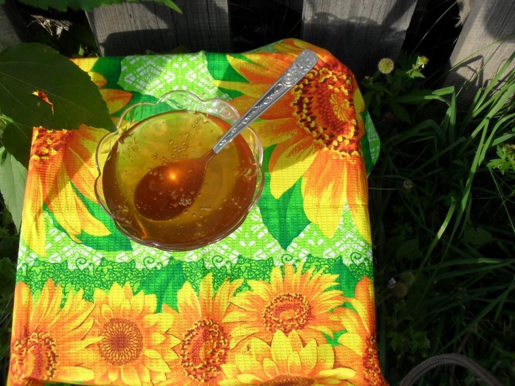 Мёд свежеоткачанный