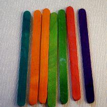 Палочки от мороженого, окрашенные в разные цвета — незатратый и наглядный вариант маркировки