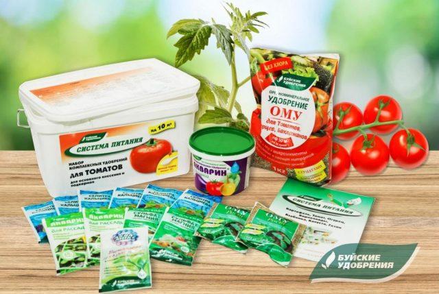 """Набор комплексных удобрений — """"Система питания"""" для томата"""