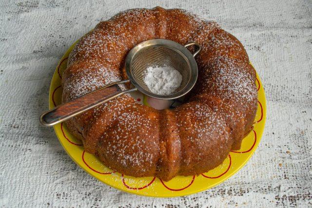 Ананасовый кекс из самых простых продуктов готов