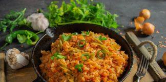 Кошари, или постная рисовая каша по-египетски