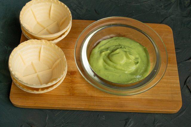 Делаем соус-крем из авокадо
