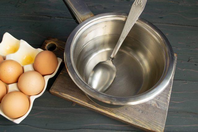 Варим яйца пашот