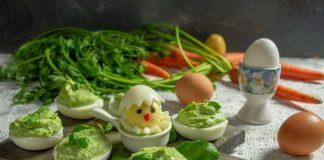 Фаршированные яйца — красивые и простые идеи для пасхального стола