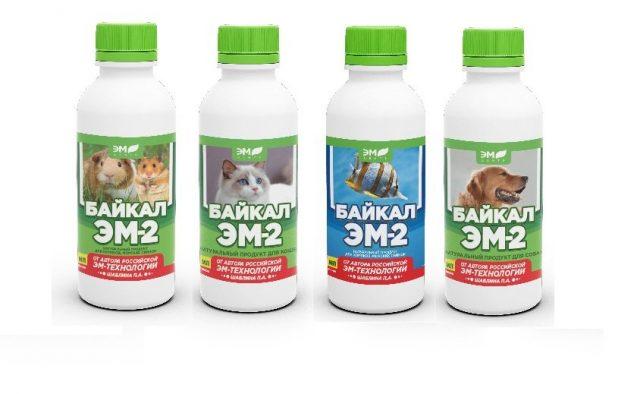 Полезный пробиотик Байкал Эм-2 для ваших любимцев