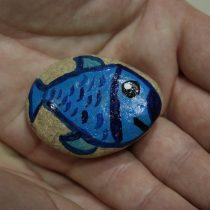 Декоративный камень «Рыбка»