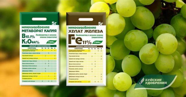 Удобрения завода Буйские удобрения: Микроудобрения метаборат калия и Хелат железа Fe 11%