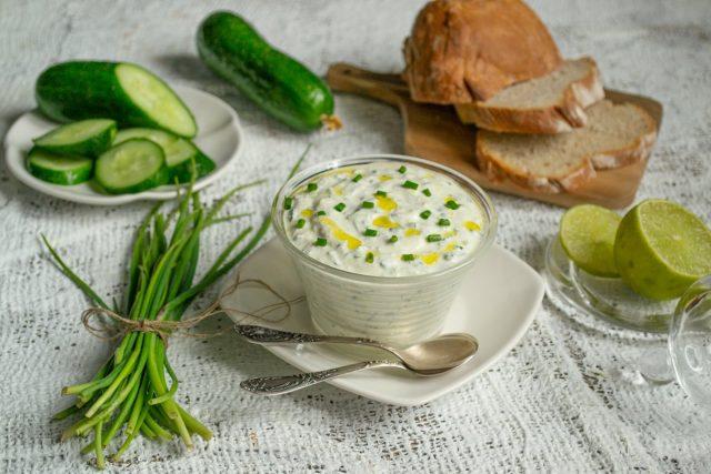 Дзадзики, или греческий соус-заправка