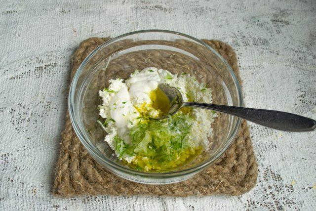 Добавляем оливковое масло
