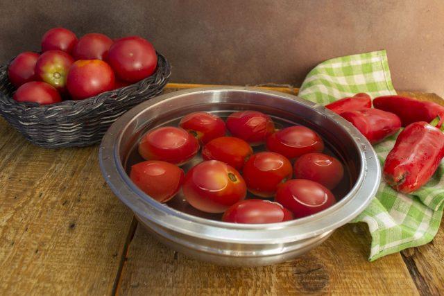Избавляемся от томатной кожицы