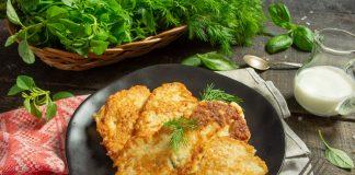Картофельные драники с курицей — быстро и вкусно