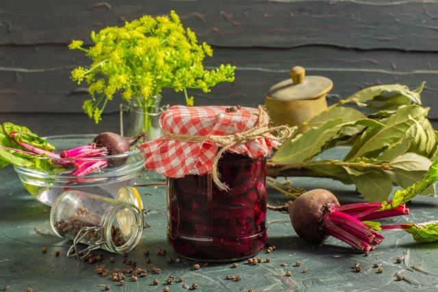 Маринованная свёкла на зиму — для борща и салата