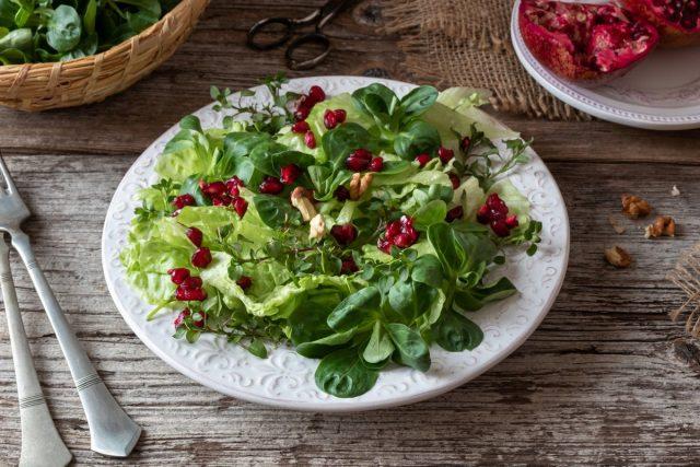 Звездчатка — отличная основа для витаминного салата