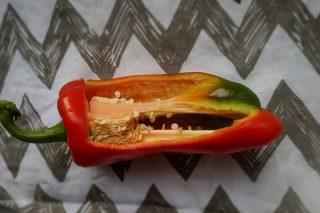 Сладкий перец «Дукат» в разрезе