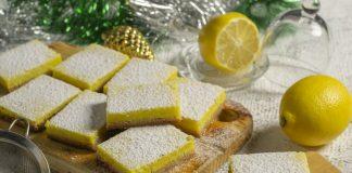 Лимонное пирожное к празднику — яркое и ароматное