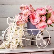 Подставка в виде кареты на один цветок