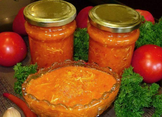Соусы и пасты из томатов биф