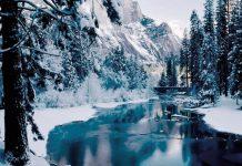 Лучший источник талой воды - горные реки