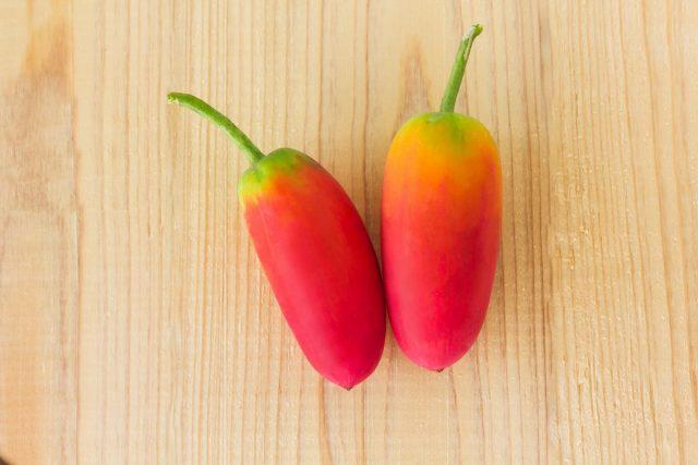 Спелые плоды кокцинии алого цвета, мясистые и сладкие