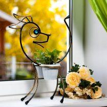 Собачка-цветочница
