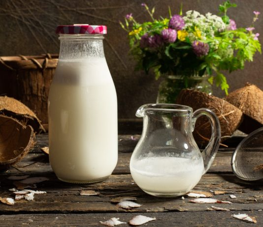Молоко из кокоса в домашних условиях