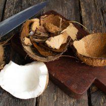 Раскалываем скорлупу кокоса