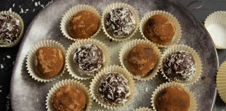 Домашние конфеты «Ромовые шарики»