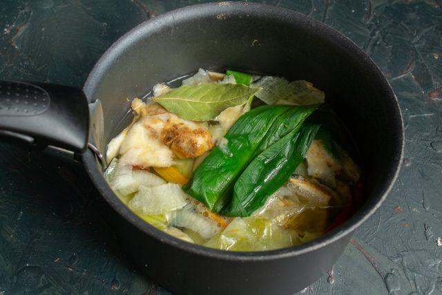 Варим овощной бульон