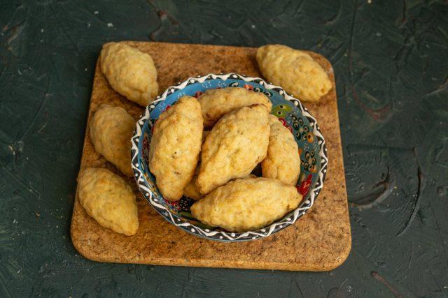 Турецкое печенье «Керебич» с грецкими орехами готов