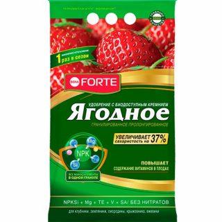 Гранулированное удобрение «Ягодное» Bona Forte