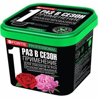 Удобрение для пионов и роз «Bona Forte»