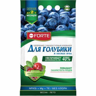 Пролонгированное удобрение «Bona Forte» для голубики и лесных ягод