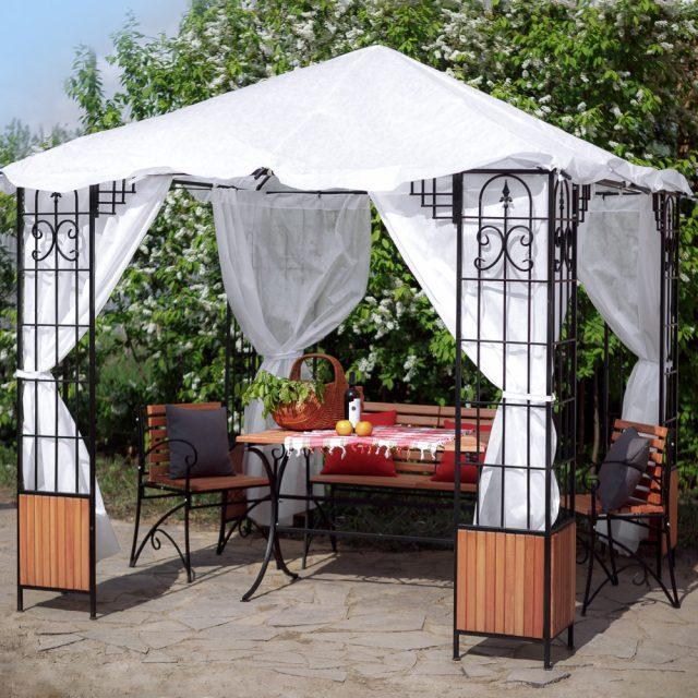 Беседки для дачи и садового участка — фото