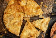 Быстрый пирог с курицей — вкуснее пиццы