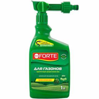Газонное удобрение «Bona Forte» с эжектором
