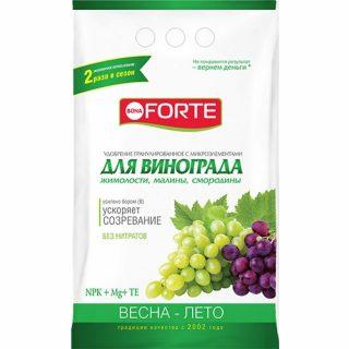 Удобрение Bona Forte для винограда