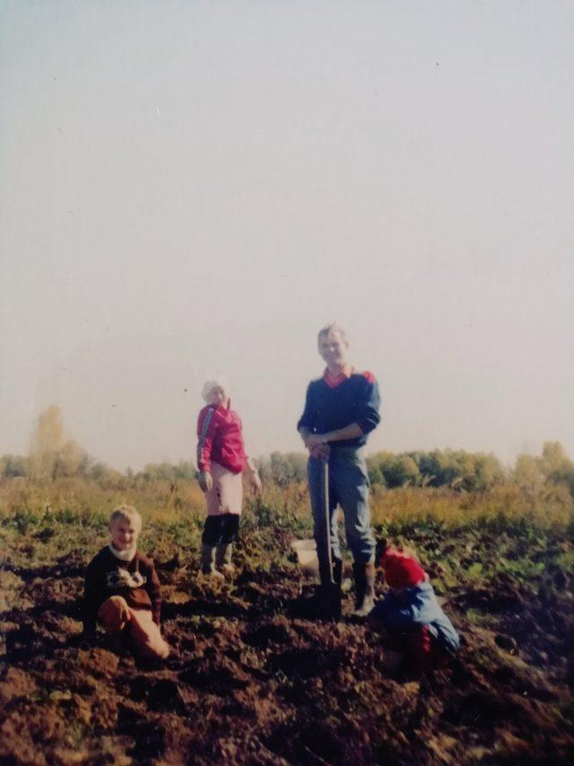 Огород, с детства такой родной
