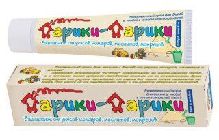 Репеллентный крем для детей от укусов комаров «Дарики-дарики»